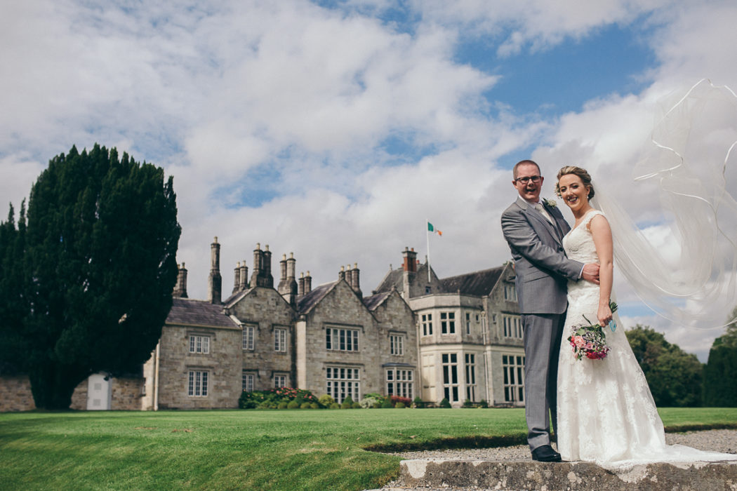 Siobhain & Bob Wedding Sneak Peek at Lough Rynn Castle