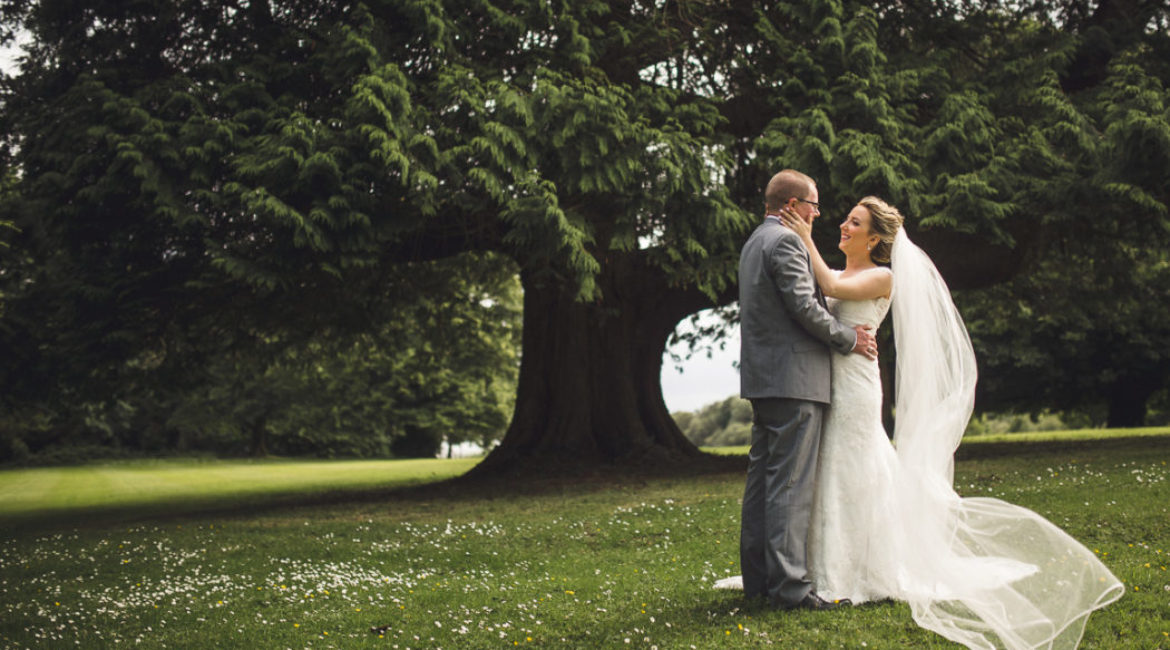 Siobhain & Bob At Lough Rynn Castle