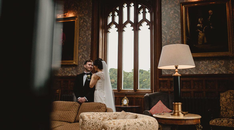 Lisa & Stephen's Wedding At Markree Castle