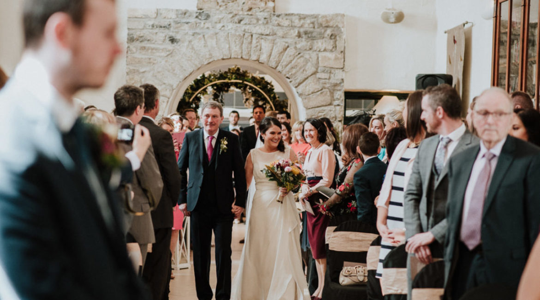 Sara & Derek's Wedding At Castle Dargan