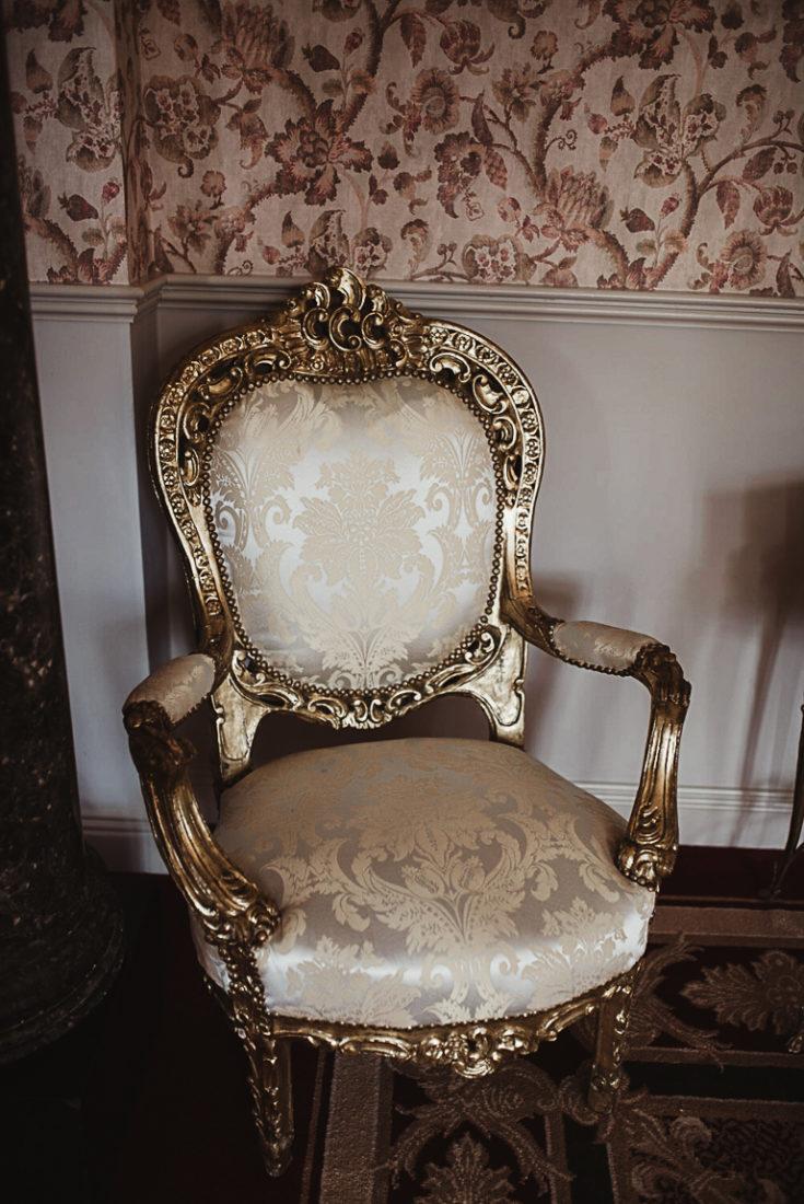 An antique chair
