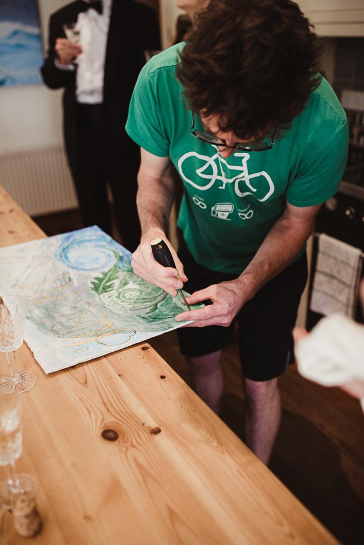 Paintings preparation