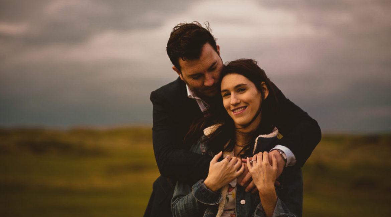 Lisa & Stephen's Engagement Session At Strandhill
