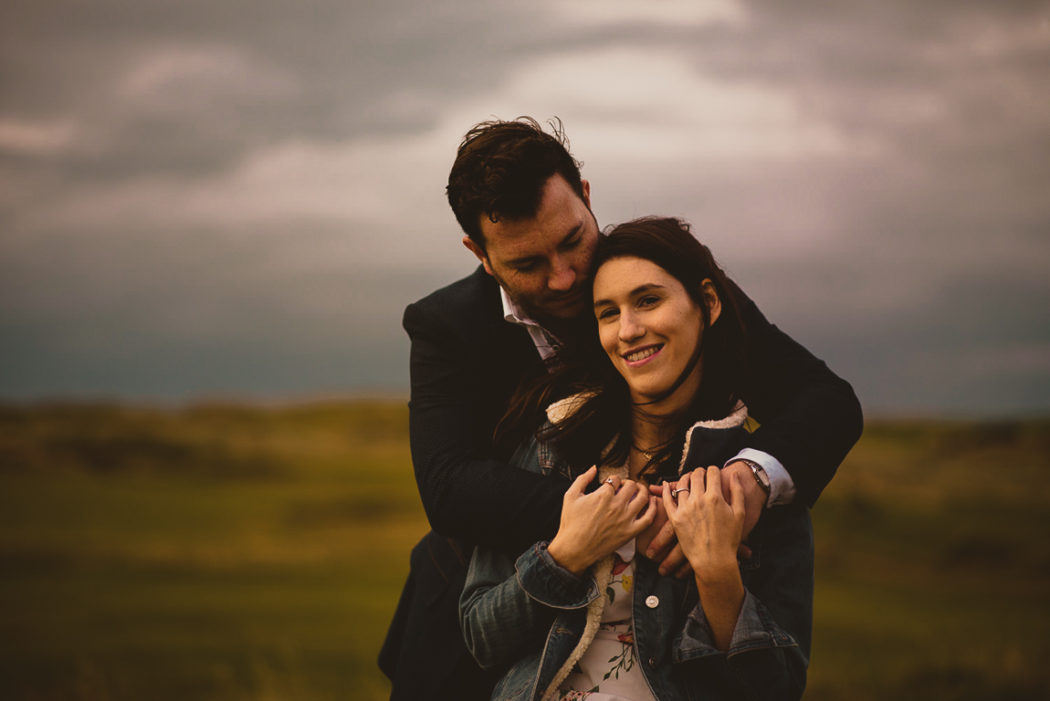 Lisa & Stephen's Engagement Session At Strandhill