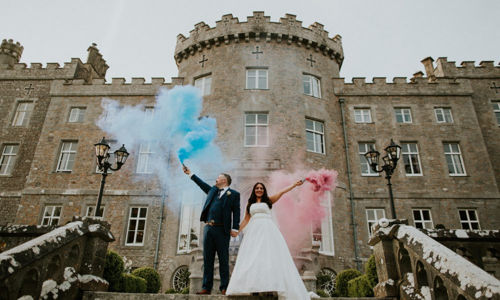 Lindsay & Kevin Wedding's At Markree Castle