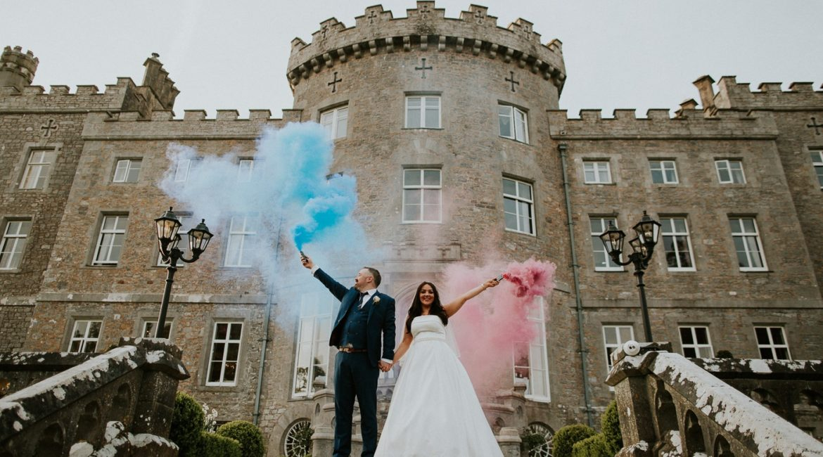 Lindsay & Kevin Wedding's At Markree Castle