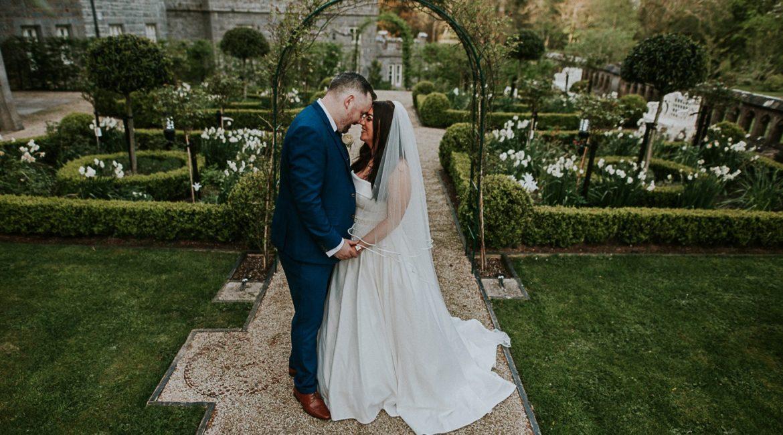 Sneak Peek of Lindsay & Kevin Wedding At Markree Castle