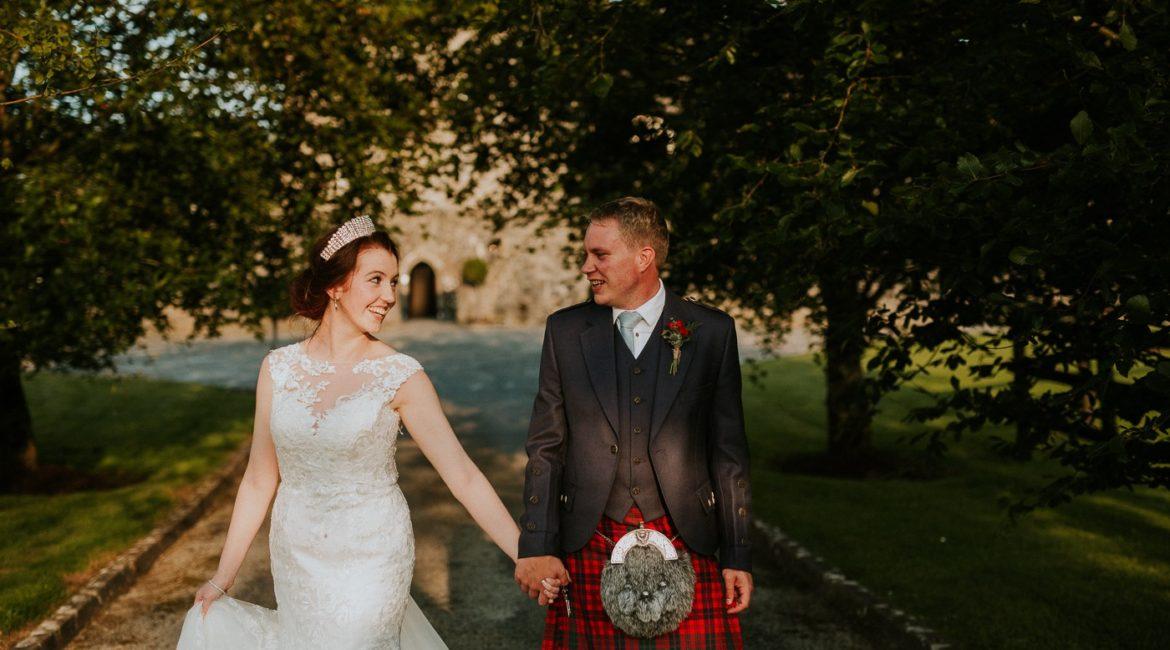 Cloghan Castle Wedding  Slideshow // K + T