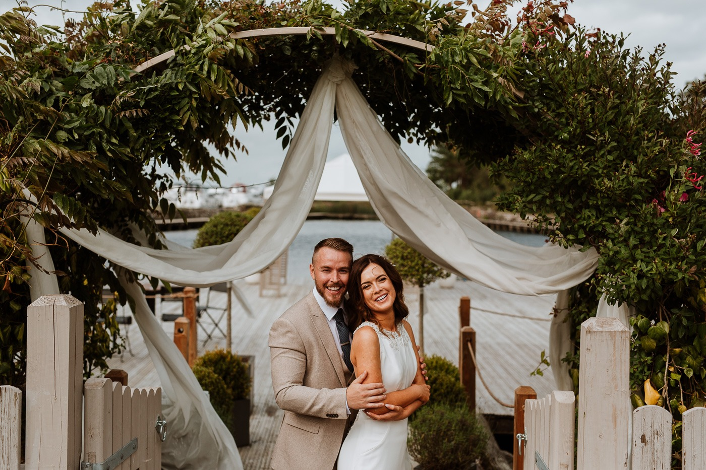 Sneak Peek of Sarah & Shane's Wedding at Coolbawn Quay