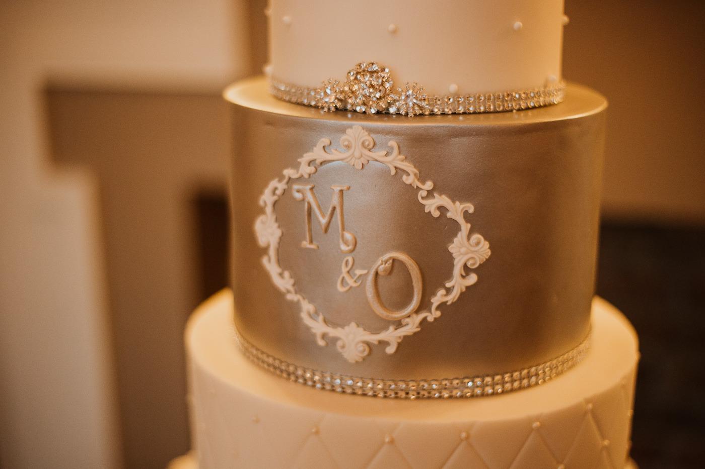 A wedding cake