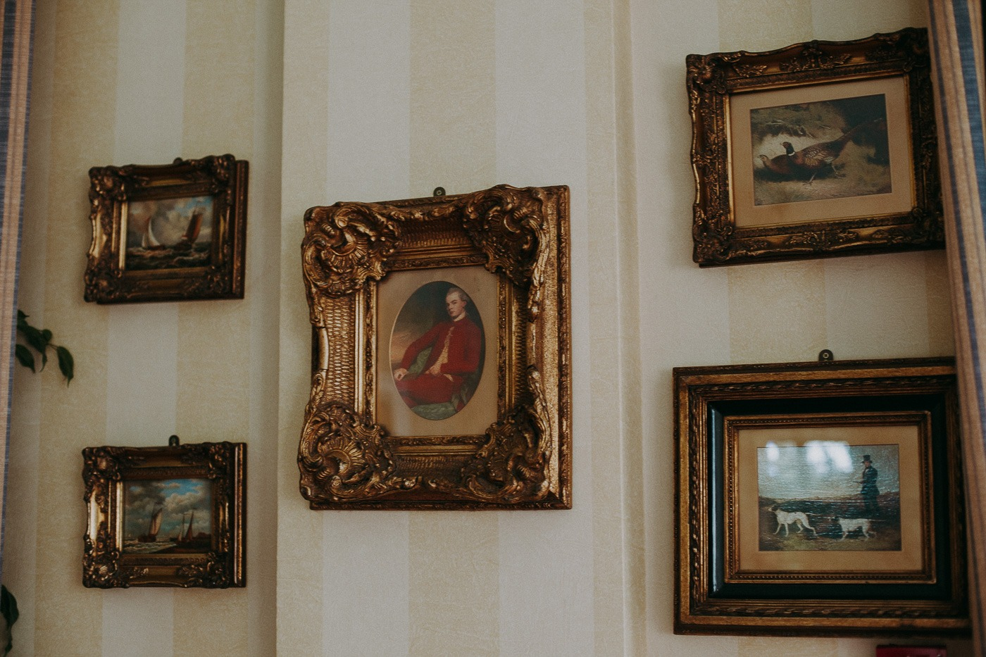 A painting on the wall
