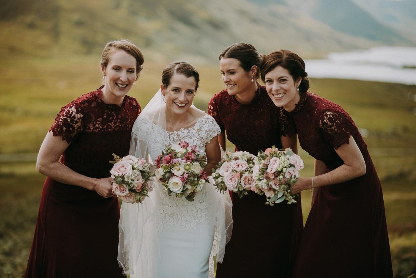 Leonora Kennedy in a wedding dress