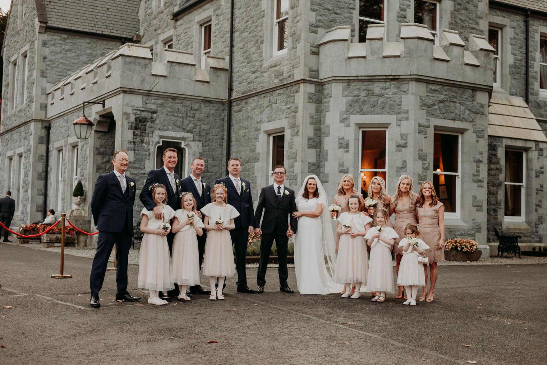 Winter Wedding Ireland Winter Castle Wedding Christmas Wedding