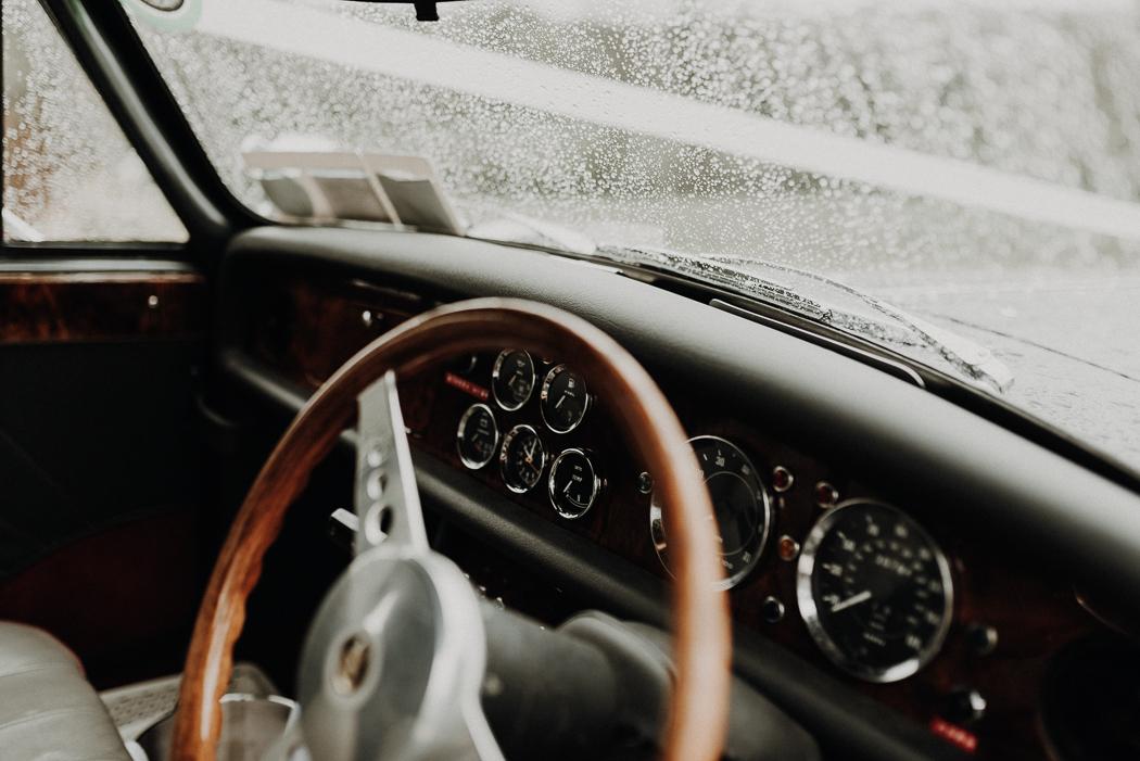 A close up of a car