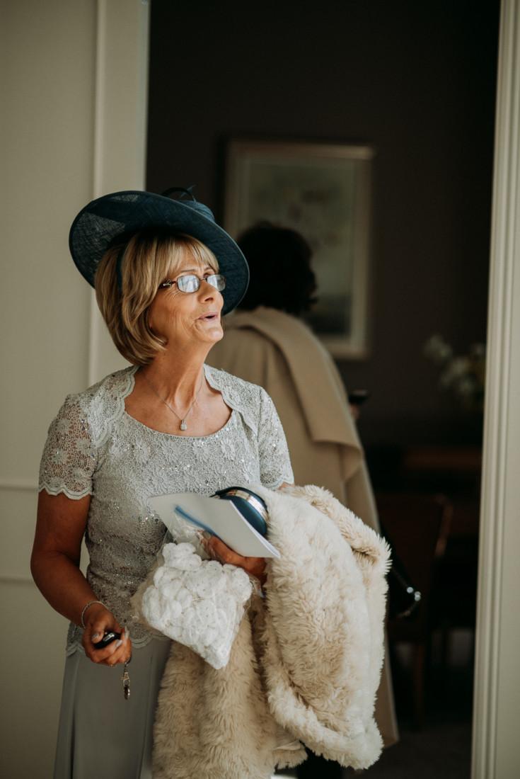 A woman holding a stuffed animal