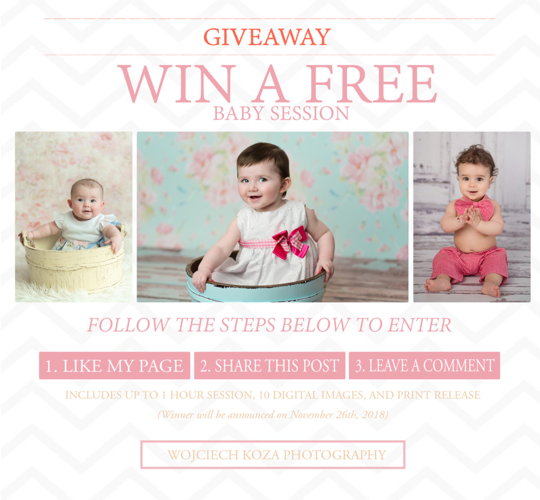 FREE PHOTO SESSION GIVEAWAY!